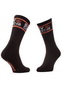 Superdry Zestaw 3 par wysokich skarpet unisex Coolmax Crew Sock 3Pk MS400010A Kolorowy. Wzór: kolorowy #3
