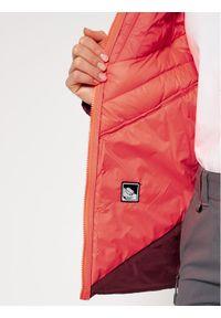 Czerwona kurtka zimowa Salewa
