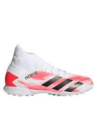 Adidas - Buty piłkarskie turfy dla dzieci adidas Predator 20.3 TF EG0929. Okazja: na imprezę. Materiał: syntetyk, materiał. Szerokość cholewki: normalna. Wzór: nadruk. Sezon: lato. Sport: piłka nożna