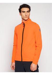 Rossignol Bluza Palmares Full Zip RLIML05 Pomarańczowy Slim Fit. Kolor: pomarańczowy