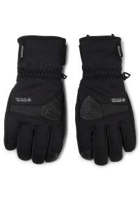 Czarna rękawiczka sportowa Ziener narciarska, Gore-Tex
