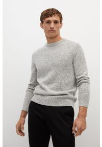 Sweter Mango Man casualowy, z długim rękawem, długi