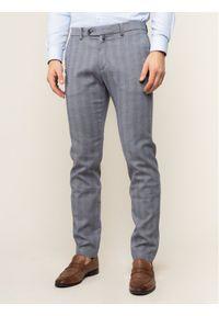 Pierre Cardin Spodnie materiałowe Lyon 33797/000/4784 Szary Modern Fit. Kolor: szary. Materiał: materiał