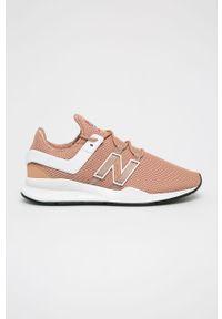 Sneakersy New Balance z cholewką, na sznurówki