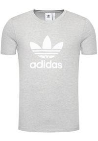 Adidas - adidas T-Shirt adicolor Classics Trefoil GN3465 Szary Standart Fit. Kolor: szary