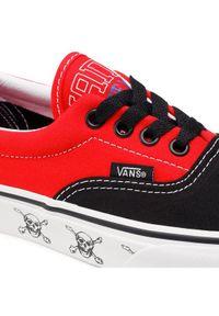 Czerwone trampki Vans