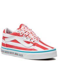 Vans - Tenisówki VANS - Old Skool VN0A4BUU3UV1 (Where's Waldo?) Intistrps. Okazja: na co dzień. Kolor: czerwony. Materiał: materiał. Szerokość cholewki: normalna. Styl: casual