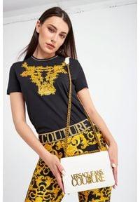 Versace Jeans Couture - TOREBKA VERSACE JEANS COUTURE. Wzór: haft, aplikacja. Dodatki: z haftem. Materiał: z tłoczeniem, zdobione #3