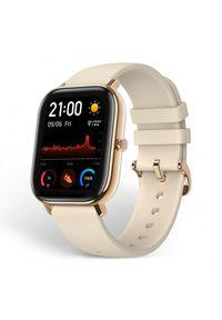 Złoty zegarek Huami smartwatch, klasyczny