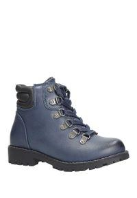 Niebieskie buty zimowe Sergio Leone