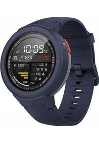 AMAZFIT - Smartwatch Amazfit Verge Granatowy. Rodzaj zegarka: smartwatch. Kolor: niebieski