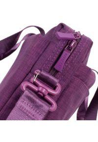 Fioletowa torba na laptopa RIVACASE casualowa #9