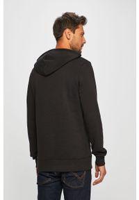 Czarna bluza nierozpinana Reebok Classic na co dzień, z nadrukiem, casualowa