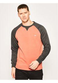 Quiksilver Bluza Everyday EQYFT04139 Pomarańczowy Regular Fit. Kolor: pomarańczowy