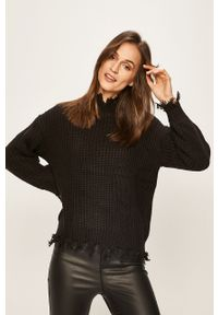 Czarny sweter TALLY WEIJL na co dzień, casualowy