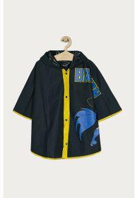 Niebieski płaszcz OVS z kapturem
