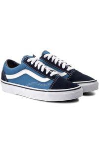 Vans Tenisówki Old Skool VN000D3HNVY Niebieski. Kolor: niebieski #3