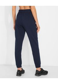 JENESEQUA - Granatowe spodnie dresowe. Kolor: niebieski. Materiał: dresówka. Wzór: aplikacja