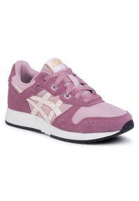 Różowe buty sportowe Asics z cholewką, na co dzień
