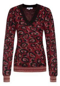 Czerwony sweter Silvian Heach
