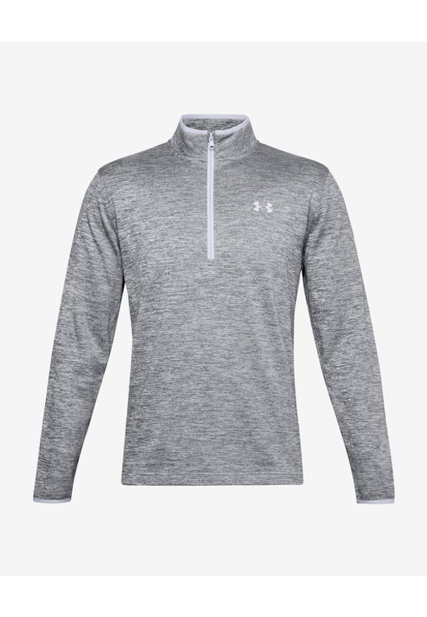 Szara bluza Under Armour długa, bez kaptura