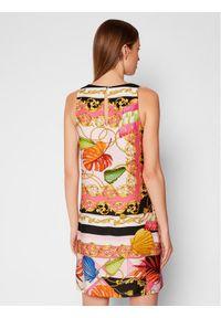 Rinascimento Sukienka codzienna CFC0017930002 Kolorowy Regular Fit. Okazja: na co dzień. Wzór: kolorowy. Typ sukienki: proste. Styl: casual