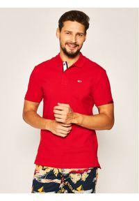 Czerwona koszulka polo Tommy Jeans polo