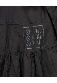 ROBERT KUPISZ - Czarna spódnica ORIENT KAWAII. Okazja: do pracy, na co dzień. Kolor: czarny. Materiał: materiał. Styl: klasyczny, casual