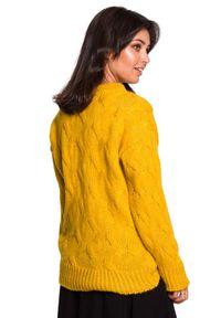 Sweter klasyczny, z długim rękawem