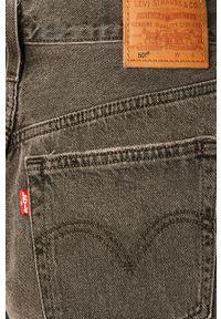 Levi's® - Levi's - Szorty jeansowe. Okazja: na co dzień, na spotkanie biznesowe. Kolor: szary. Materiał: jeans. Styl: biznesowy, casual