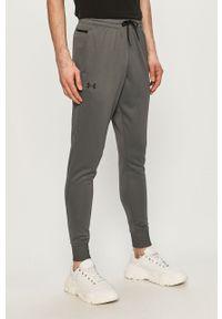 Szare spodnie dresowe Under Armour gładkie