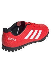 Adidas - Buty piłkarskie turfy dla dzieci adidas Copa 20.4 TF EF1925. Okazja: na imprezę. Materiał: skóra, syntetyk. Szerokość cholewki: normalna. Sezon: lato. Sport: piłka nożna