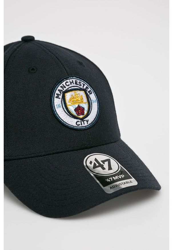 Niebieska czapka z daszkiem 47 Brand z haftami