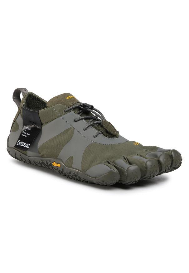 Zielone buty trekkingowe Vibram Fivefingers z cholewką, Vibram FiveFingers