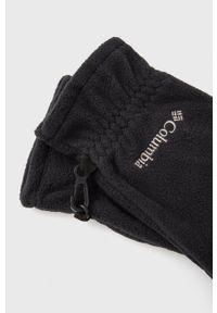 columbia - Columbia - Rękawiczki. Kolor: czarny. Materiał: dzianina