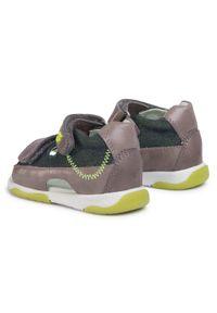 Zielone sandały Garvalin klasyczne, na lato