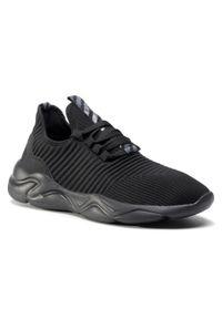 Czarne buty treningowe Sprandi z cholewką