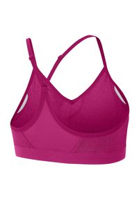 Biustonosz Nike Indy 878614. Materiał: tkanina, lyocell, materiał, poliester. Technologia: Dri-Fit (Nike). Sport: joga i pilates