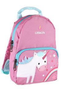 LittleLife plecak Friendly Faces Toddler Backpack 2l, unicorn. Kolor: różowy