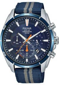 Zegarek Pulsar Zegarek Pulsar Solar męski chronograf PZ5089X1 uniwersalny