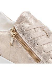 Złote buty sportowe Geox