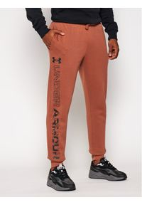Brązowe spodnie dresowe Under Armour