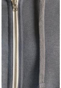 Calvin Klein Underwear - Bluza. Okazja: na co dzień. Typ kołnierza: kaptur. Kolor: szary. Styl: casual
