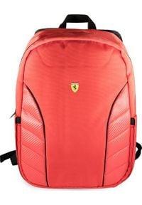 """Plecak Ferrari Ferrari Plecak FESRBBPSIC15RE 15"""" czerwony/red Scuderia New Edition. Kolor: czerwony"""