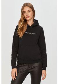 Czarna bluza Calvin Klein Jeans casualowa, na co dzień