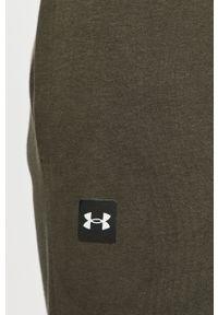 Zielone spodnie dresowe Under Armour