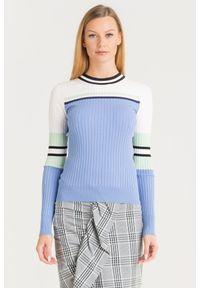 Sweter Sportmax Code krótki, z długim rękawem, na spacer