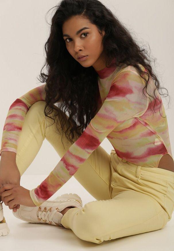 Żółte spodnie Renee