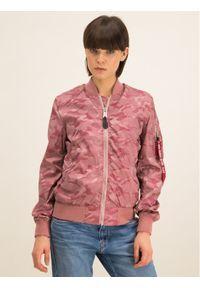 Różowa kurtka przejściowa Alpha Industries