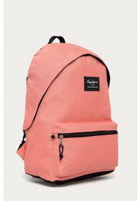 Pepe Jeans - Plecak Aris. Kolor: różowy. Wzór: aplikacja